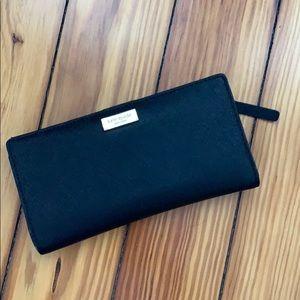 Black Kate Spade Laurel Way Stacey Wallet